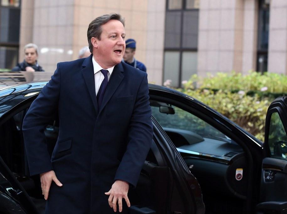 David Cameron / JULIEN WARNAND   /PAP/EPA