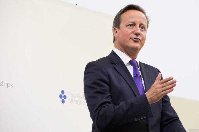 David Cameron /PAP/EPA/DANIEL LEAL-OLIVAS / POOL /PAP/EPA