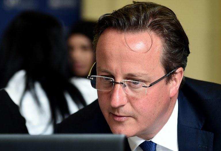 David Cameron /AFP