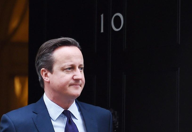 David Cameron /ANDY RAIN /PAP/EPA
