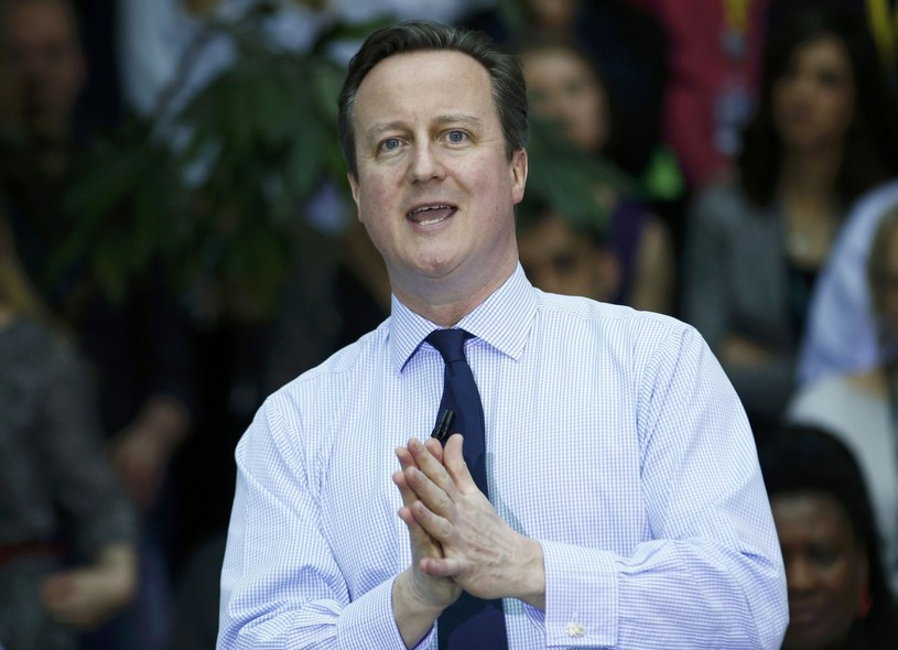 David Cameron /PETER NICHOLLS /East News