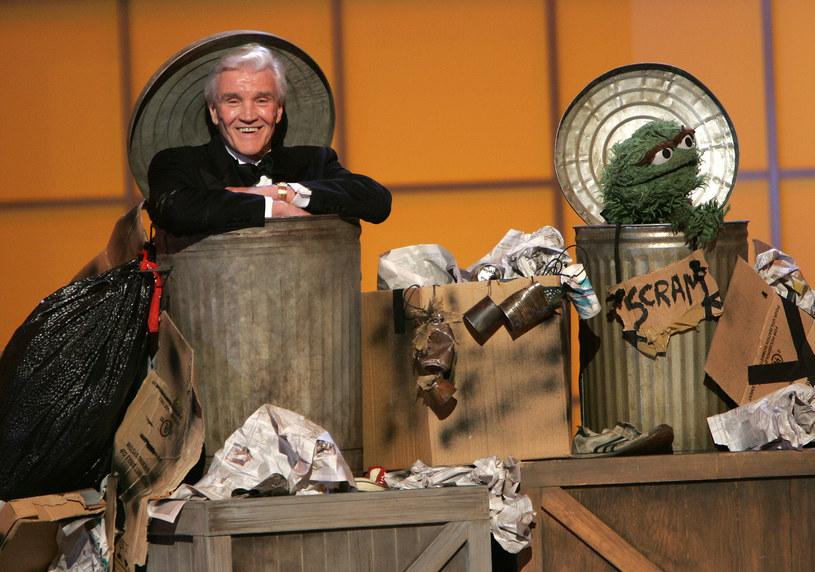 David Canary i Oskar podczas rozdania nagród Emmy (2005 rok) /Scott Gries /Getty Images