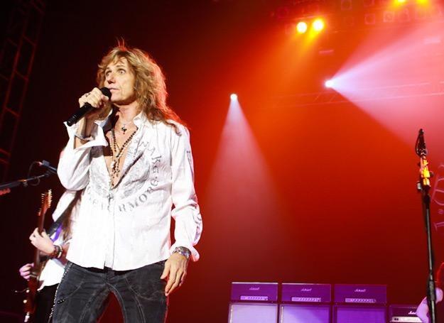 David Coverdale (Whitesnake) w katowickim Spodku /fot. Bartosz Nowicki