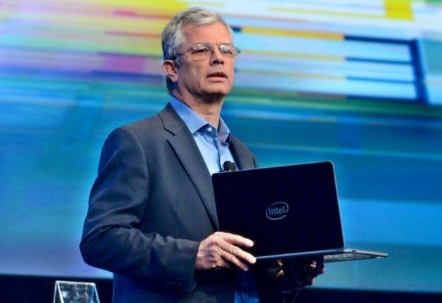 David (Dadi) Perlmutter prezentuje nową generację procesorów o niskim poborze mocy /materiały prasowe