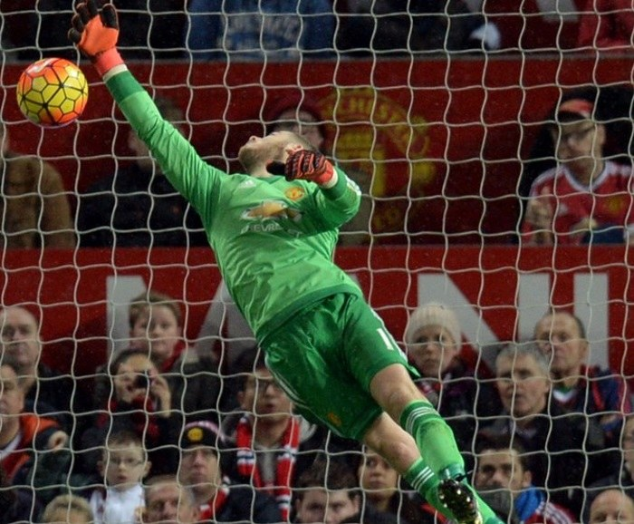 David de Gea w bramce Manchesteru United /AFP