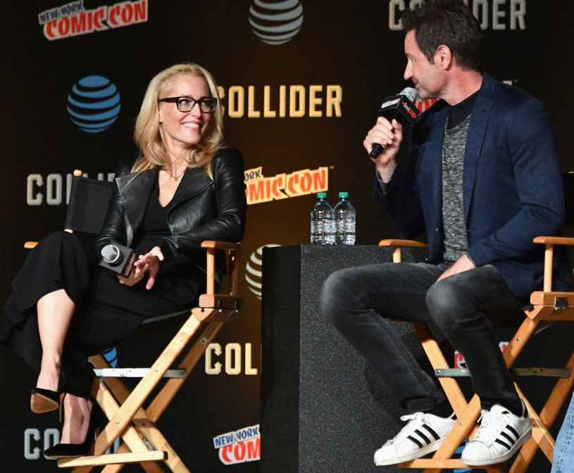 David Duchovny i Gillian Anderson/fot.Dia Dipasupil /Getty Images