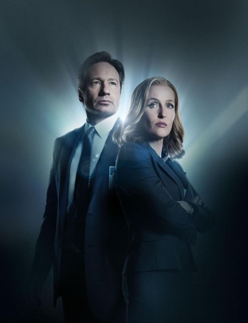 David Duchovny i Gillian Anderson wracają jako agenci Mulder i Scully /FOX /materiały prasowe