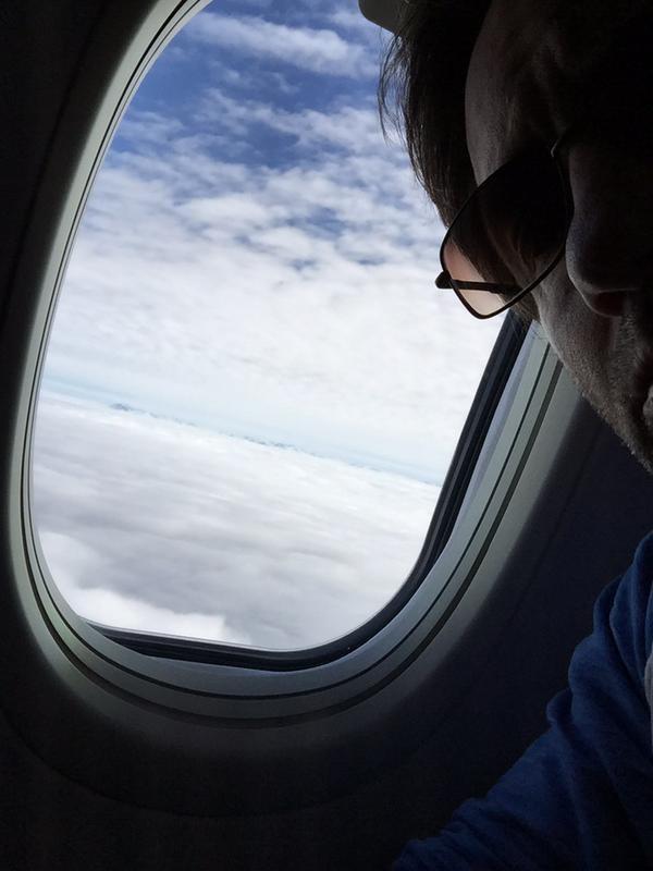 David Duchovny w podróży do Vancouver /Twitter /internet