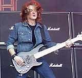 David Ellefson (Megadeth) /Jarosław Szubrycht/INTERIA.PL