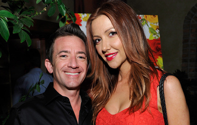 David Faustino z ukochaną /John Sciulli /Getty Images