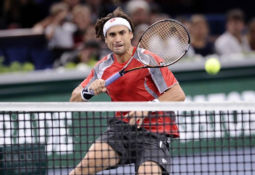 David Ferrer będzie rywalem Jerzego Janowicza w finale turnieju w Paryżu /AFP