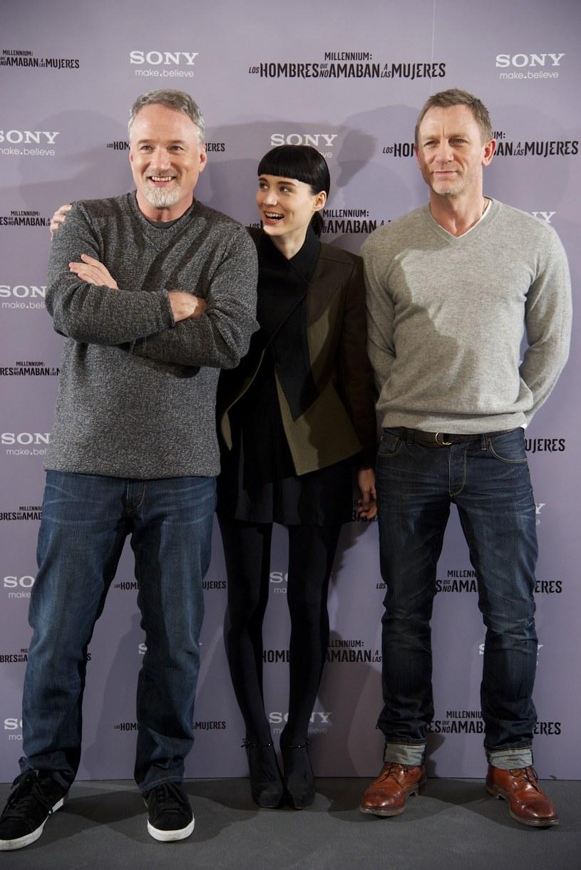 David Fincher, Rooney Mara i Daniel Graig /Getty Images