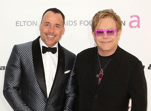 David Furnish i Elton John: Który z nich jest ojcem? fot. Frederick M. Brown /Getty Images/Flash Press Media