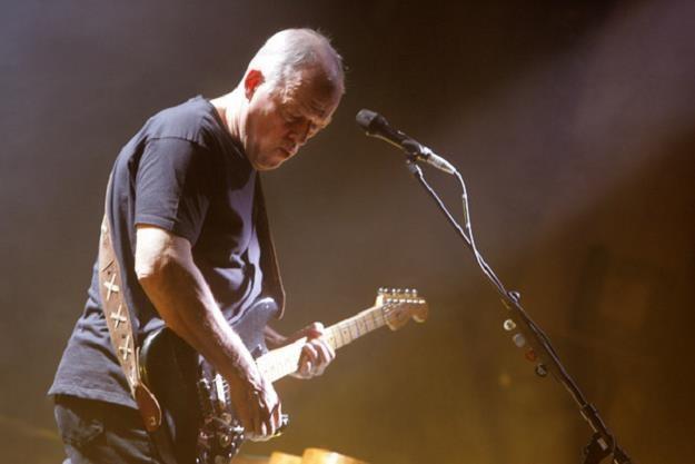 David Gilmour, gitarszysta Pink Floyd /AFP
