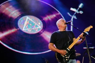 David Gilmour (Pink Floyd) na Live 8 /AFP
