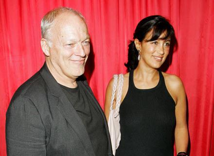 David Gilmour z żoną Polly Samson - fot. Dave Hogan /Getty Images/Flash Press Media