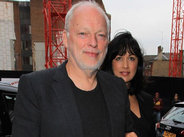 "David Gilmour z żoną: ""Zabrali naszą bombę"" fot. Danny Martindale /Getty Images/Flash Press Media"