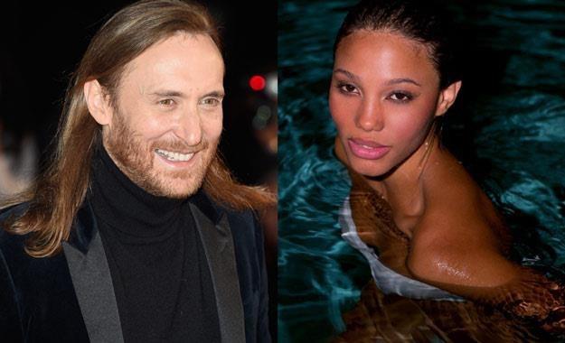 David Guetta (fot. Pascal Le Segretain) i jego nowa wybranka (fot. Facebook) /Getty Images