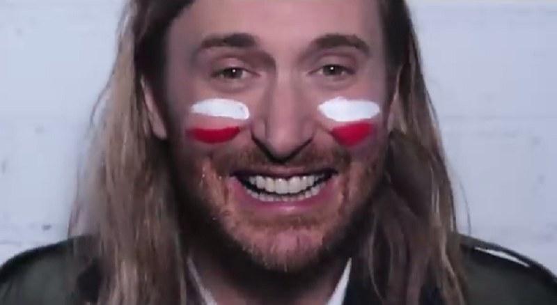 David Guetta zaskoczył wszystkich kibiców, których drużyny pojawiły się na Euro /David Guetta /YouTube