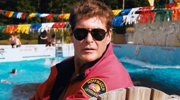 "David Hasselhoff na planie filmu ""Pirania 3DD"" /The New York Times"