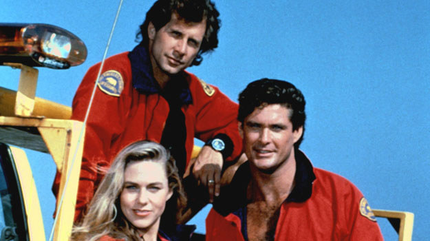 David Hasselhoff, Parker Stevenson i Shawn Weatherly /AKPA