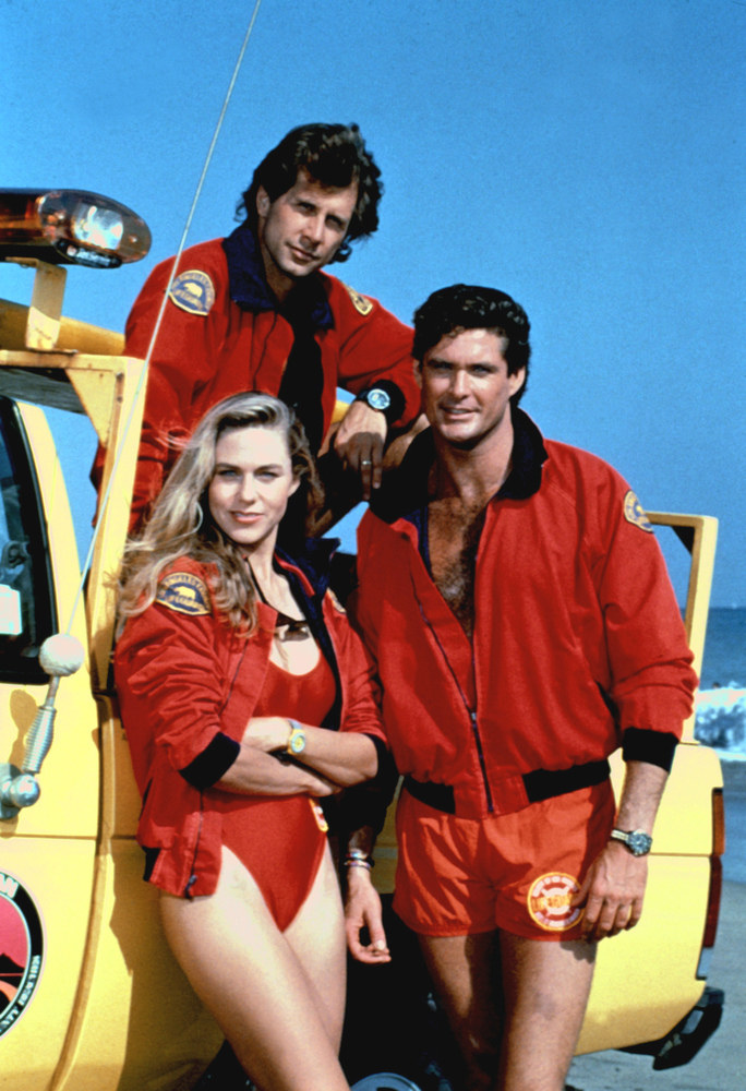 David Hasselhoff, Parker Stevenson, Shawn Weatherly /AKPA