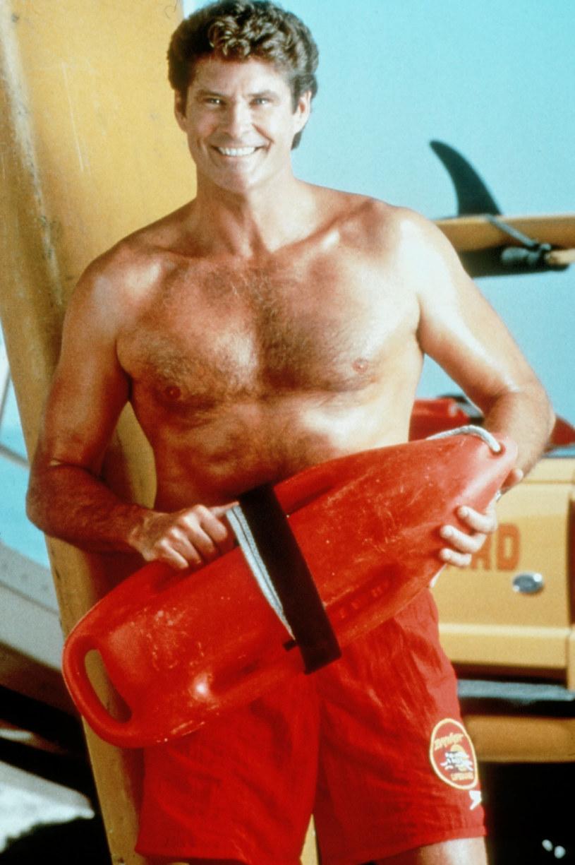 "David Hasselhoff w serialu ""Słonecnzny Patrol"" /Mary Evans Picture Library /East News"