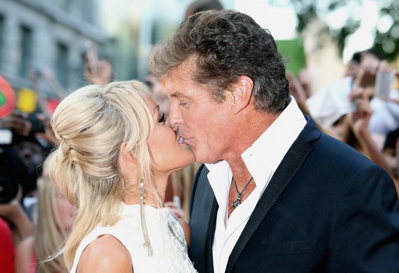 David Hasselhoff z ukochaną /Chris Jackson /Getty Images