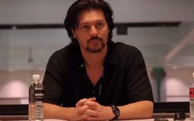 David Hayter - zdjęcie z fragmentu wywiadu z aktorem użyczającym głosu postaci z gry MGS. Źródło: youtube.com /materiały prasowe