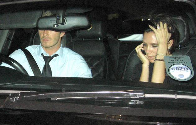 David i Victoria Beckham  /Splashnews