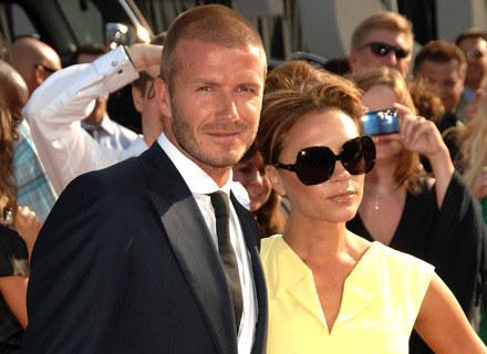 David i Victoria Beckhamowie - fot. Stephen Shugerman /Getty Images/Flash Press Media