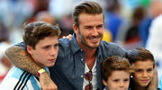 David i Victoria Beckhamowie: Ich syn chce pracować w show-biznesie!