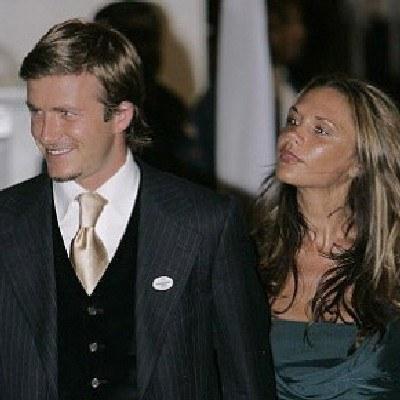 David i Victoria Beckhamowie /AFP
