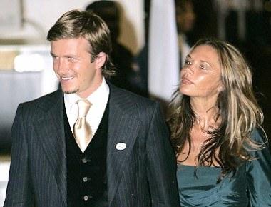 David i Victoria Beckhamowie /arch. AFP