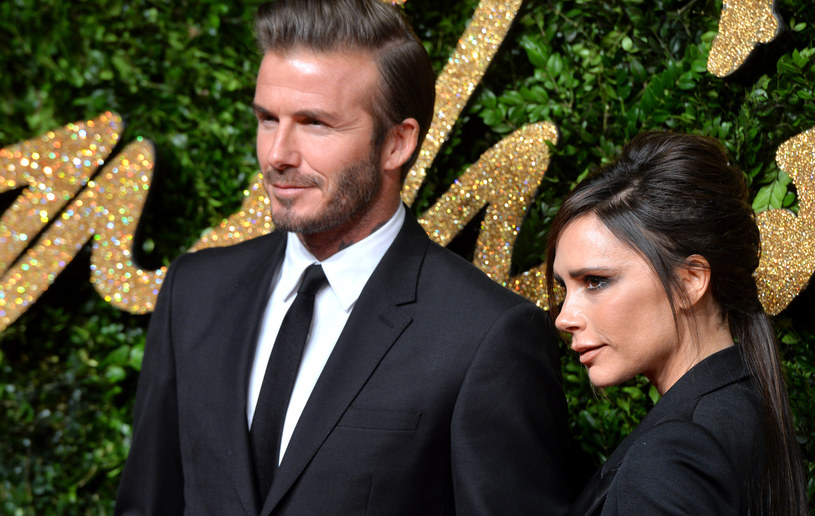 David i Victoria Beckhamowie /Anthony Harvey /Getty Images