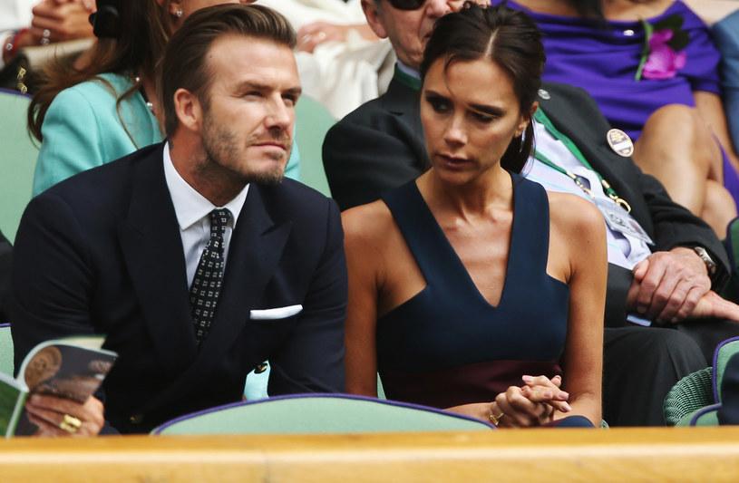 David i Victoria Beckhamowie /Matthew Stockman /Getty Images
