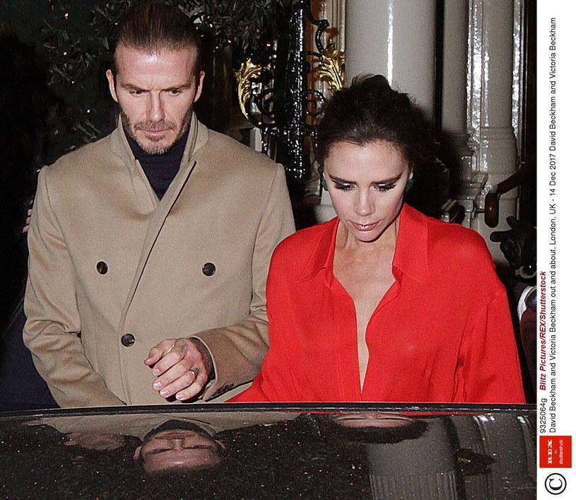 David i Victoria Beckhamowie /Blitz Pictures/REX/Shutterstock /East News