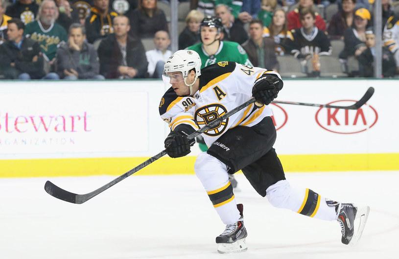 David Krejczi, strzelec dwóch goli dla Boston Bruins /AFP