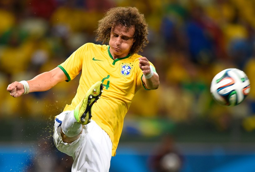 David Luiz rozegrał bardzo dobry mecz przeciwko Kolumbii w 1/4 finału MŚ /AFP
