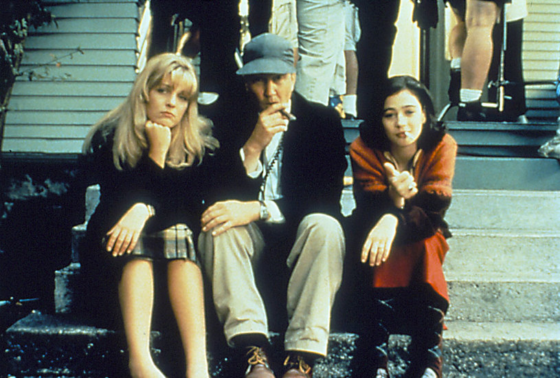 """David Lynch na planie """"Miasteczka..."""" 25 lat temu /AKPA"""