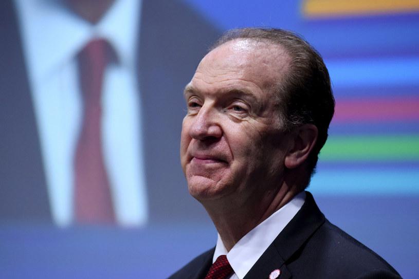 David Malpass, prezes Banku Światowego, fot. Eric  Piermont /East News