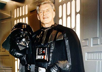 David Prowse w stroju Lorda Dartha Vadera /materiały prasowe