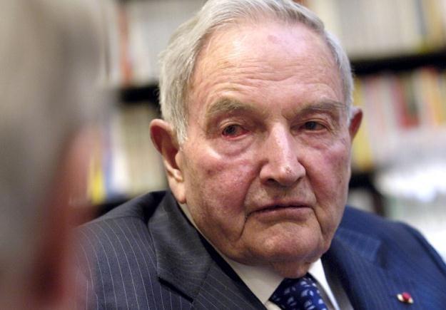 David Rockefeller /AFP