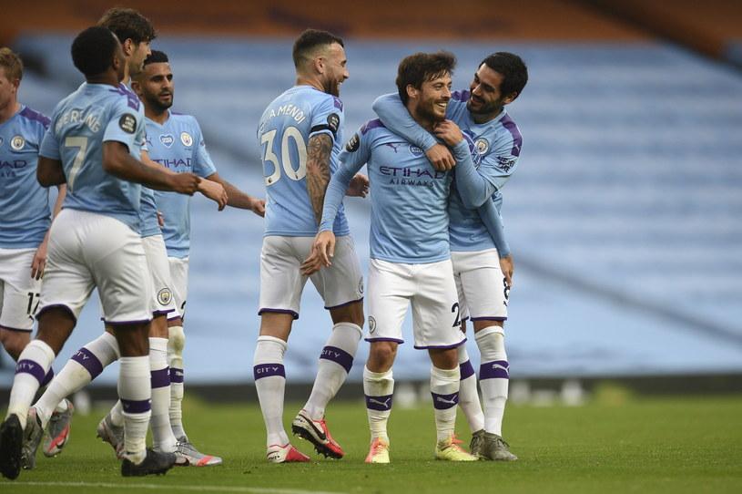 David Silva zdobył jedną z ostatnich bramek dla Manchesteru City. Hiszpan odejdzie z klubu po 10 latach /Oli Scarff /PAP/EPA