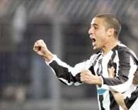 David Trezeguet - strzelec pierwszego gola dla Juve /AFP