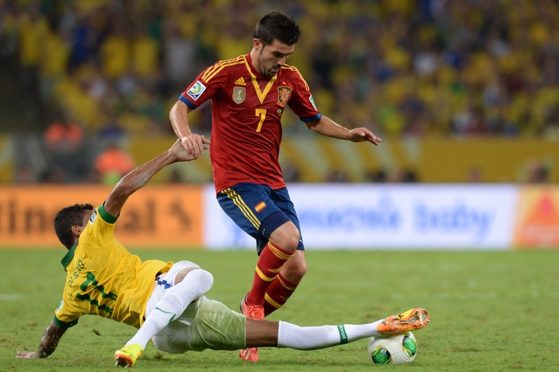 David Villa ma pewne miejsce w reprezentacji Hiszpanii /AFP