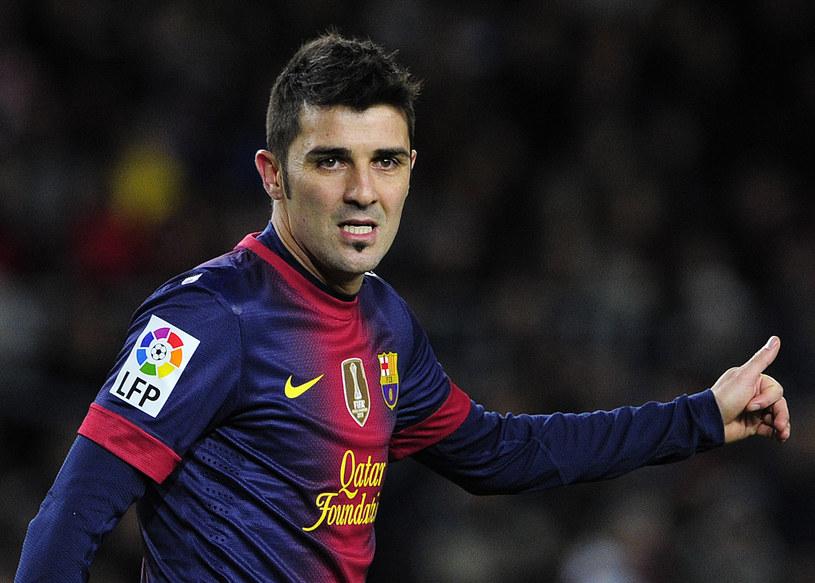 David Villa nie zrobił wielkiej kariery w Barcelonie /AFP