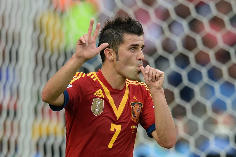 David Villa pożegna się z Barceloną? /AFP