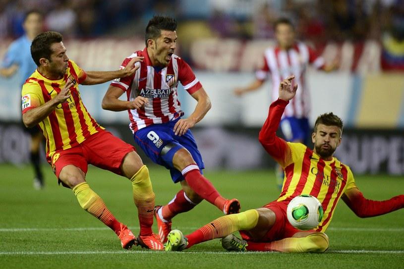 David Villa sprawił sporo prolemów swoim niedawnym kolegom z Barcelony /AFP