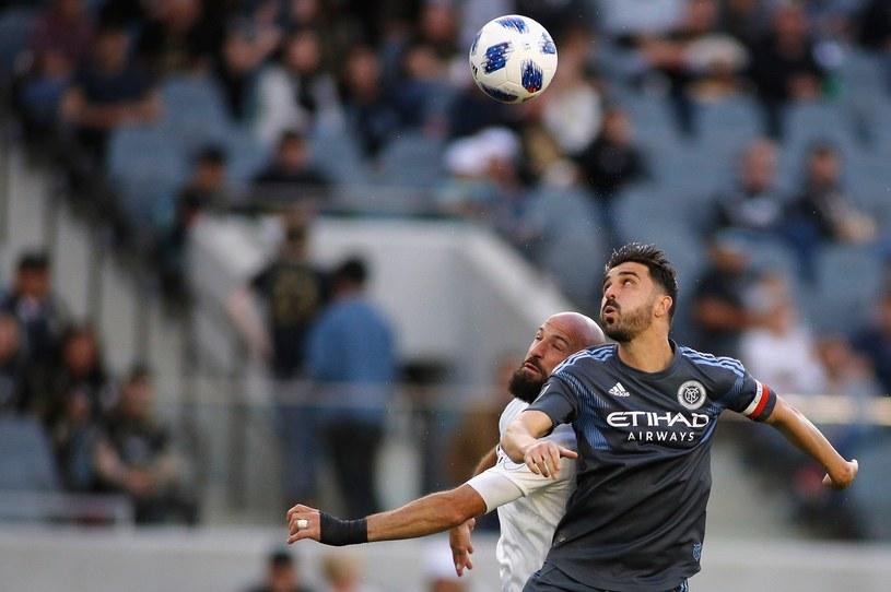 David Villa (z prawej), jeszcze w czasach gry w MLS /AFP